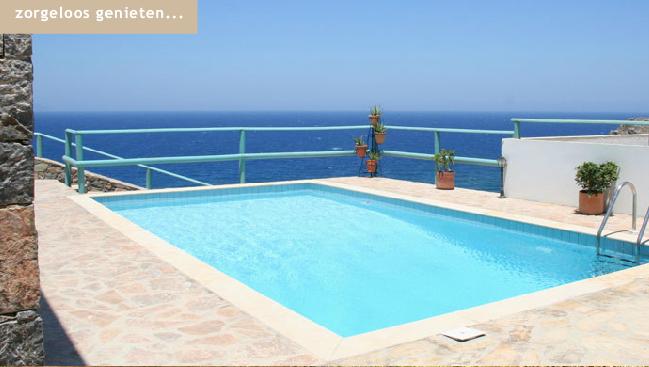 Luxe villa 39 s met zwembad te huur op kreta griekenland for Villa met zwembad te huur